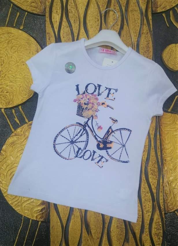 Children's T-Shirts- IFBA KIDS GIRL T-SHIRT 1956-2956