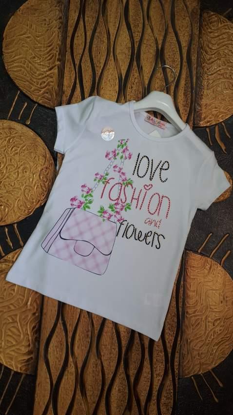 Children's T-Shirts- IFBA KIDS GIRL T-SHIRT 1958-2958