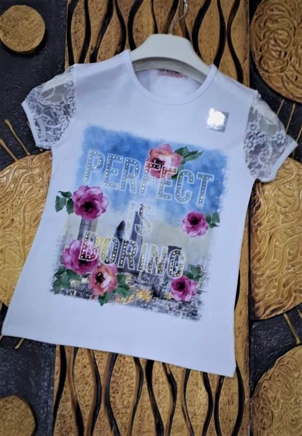 Children's T-Shirts- IFBA KIDS GIRL T-SHIRT 1987-2987