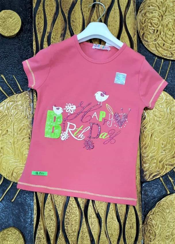 Children's T-Shirts- IFBA KIDS GIRL T-SHIRT 1989-2989