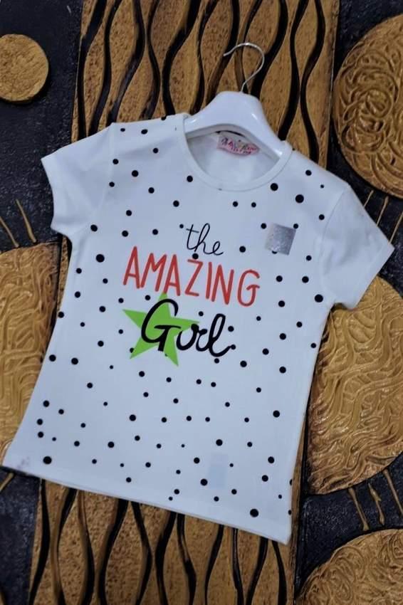 Children's T-Shirts- IFBA KIDS GIRL T-SHIRT 1991-2991
