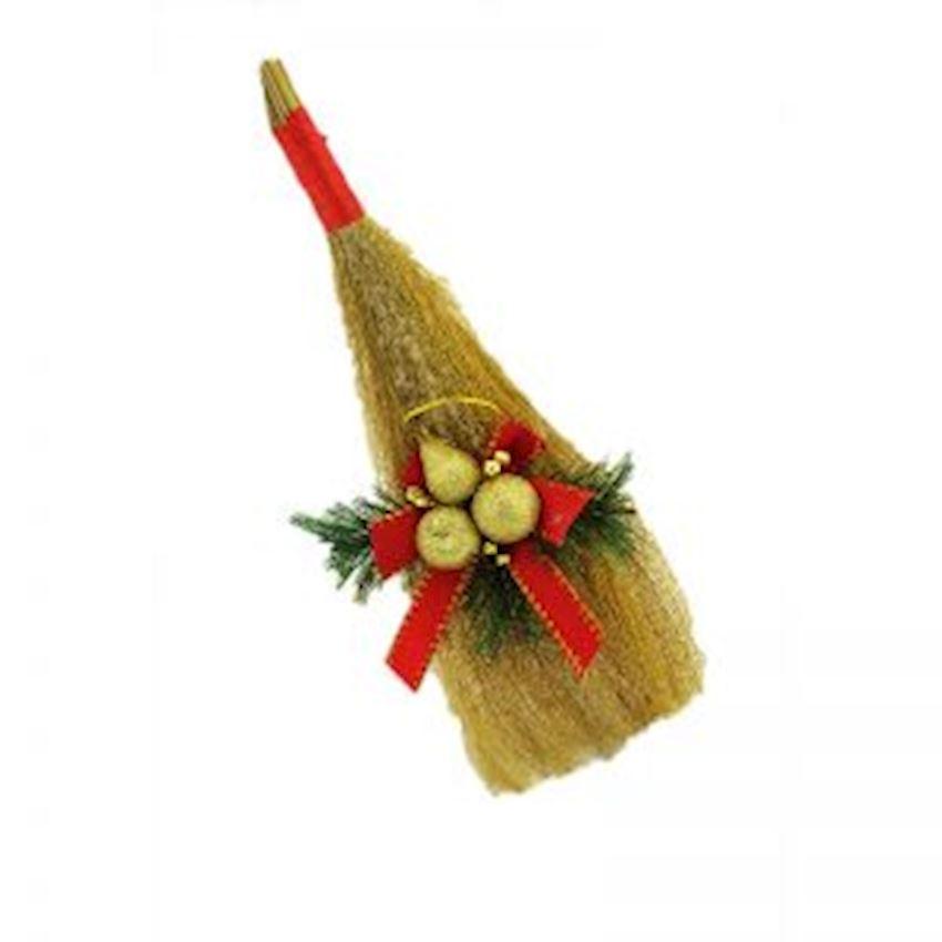Christmas Themed Bush Broom Christmas Ornament Christmas Decoration Supplies