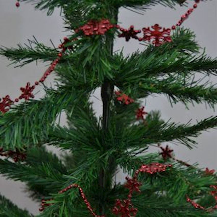 Christmas Tree Chain Decorations Red Christmas Decoration Supplies