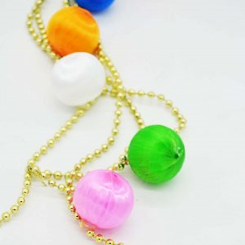 Christmas Tree Colorful Chain Ornaments Christmas Decoration Supplies