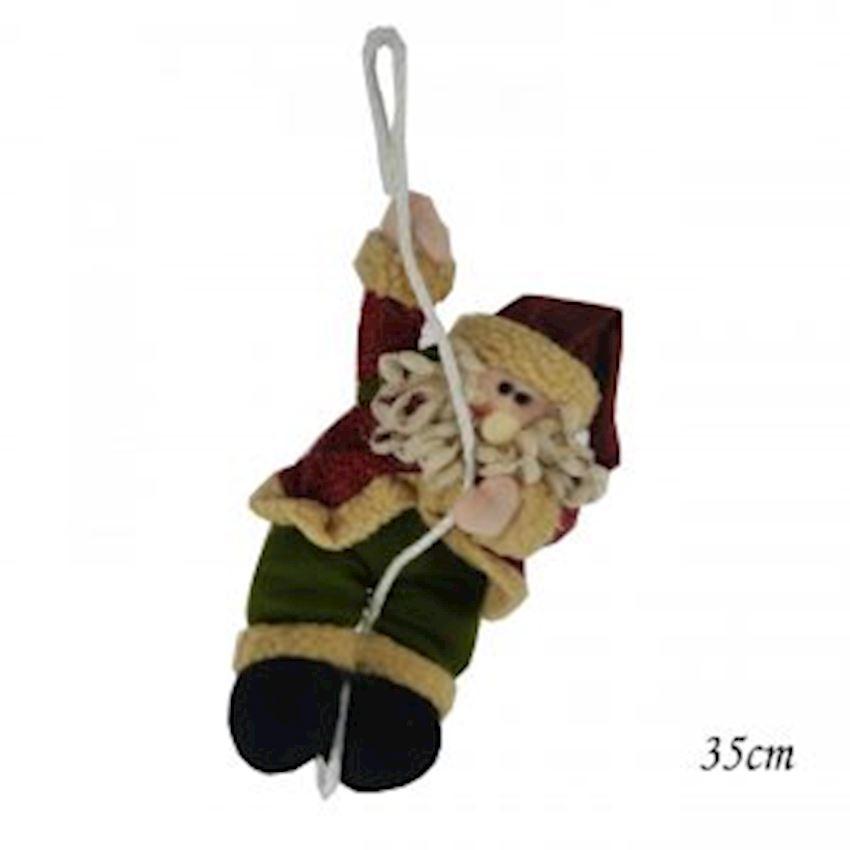 Climbing Plush Santa Claus Ornament 38cm Christmas Decoration Supplies