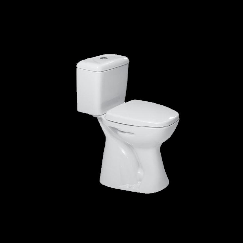 Closet, Disabled Floor Outlet Toilet Bowls