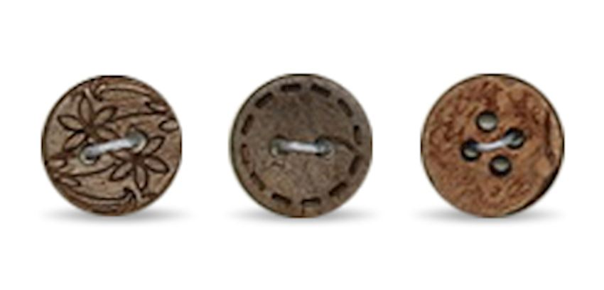 COCONATE BUTTONS