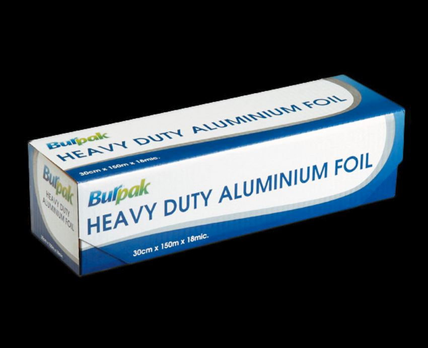 COK-OZ Burpak Heavy Duty Aluminum Foil 30 cm x 150 m