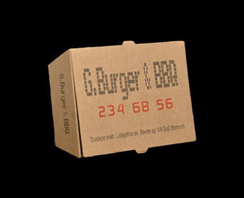 COK-OZ HAMBURGER BOX Packaging Boxes