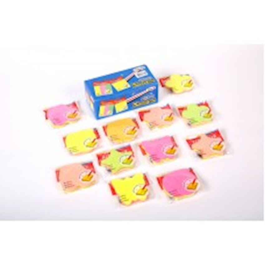 Colored Figured Sticky Note Paper Other Office & School Supplies