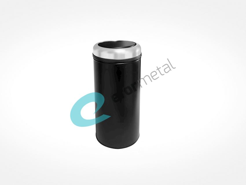 Colored Practical Cover Dust Bin