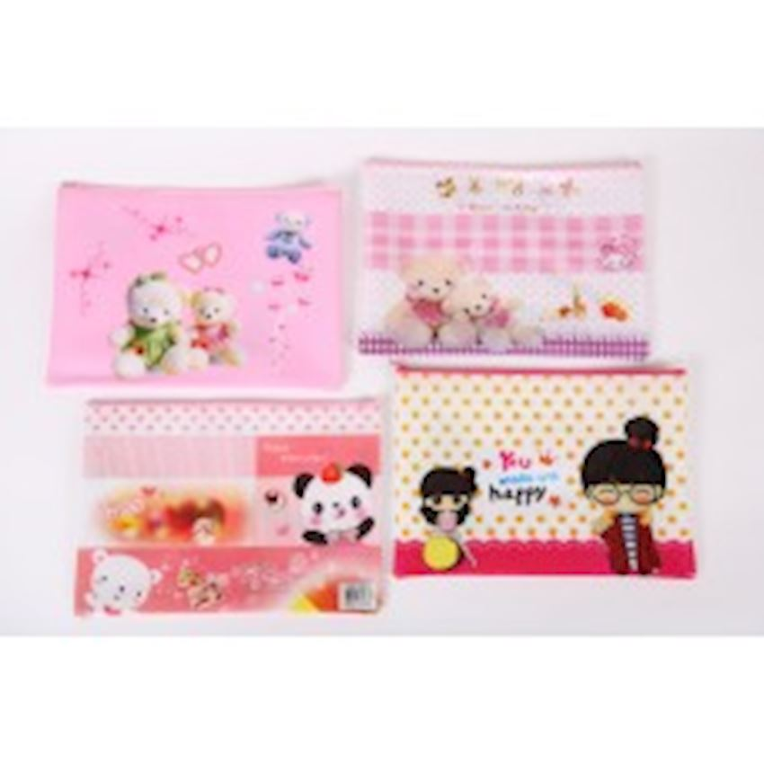 Colorful Zippered File File Folder Accessories