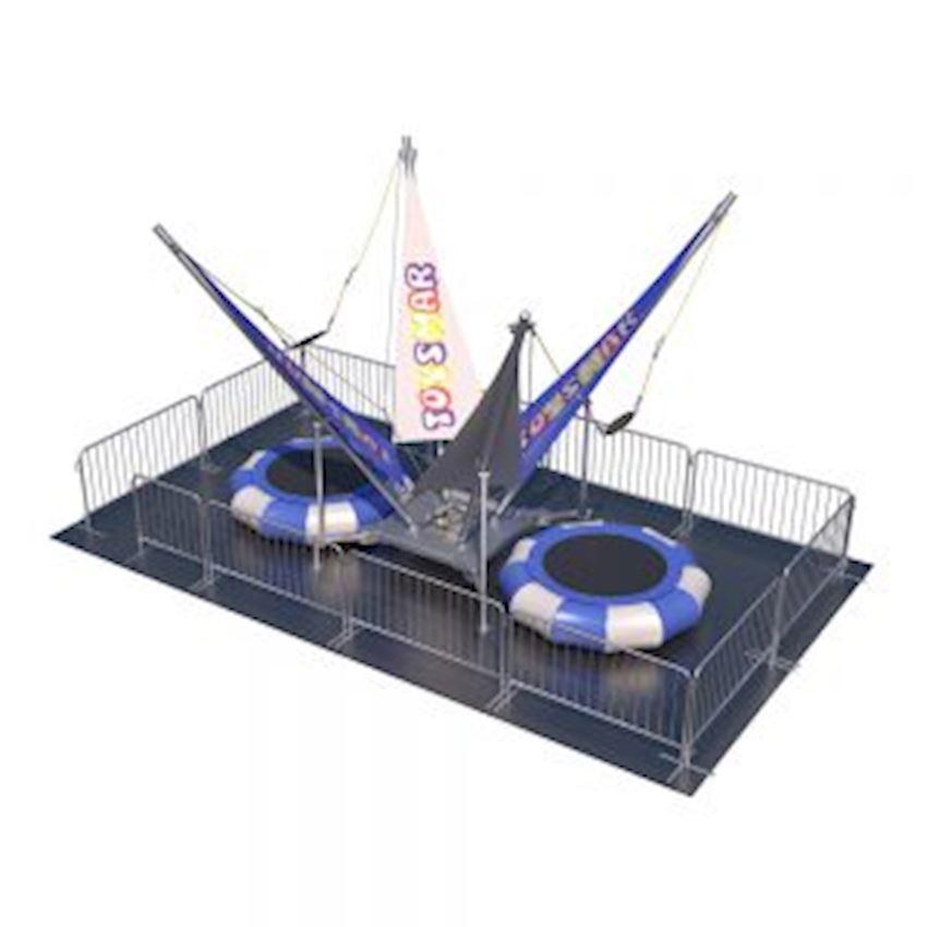 Commercial Salto Trampoline 2-inflatable Model Amusement Park
