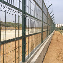 Construction Center Alcer Metro High Security Fence 20 Km