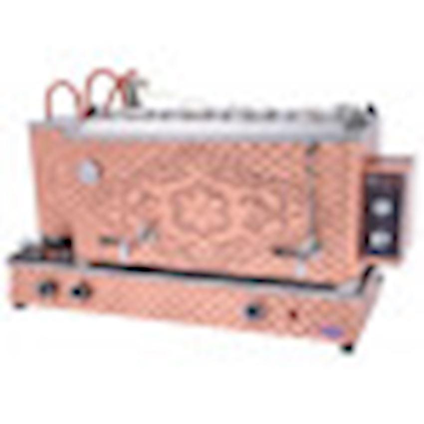 COPPER AUTOMATIC BOILER LPG WITH 4 TEAPOT