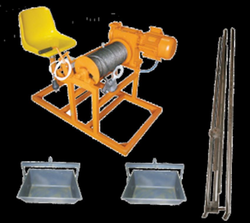 Crane with Gearbox - Ground Control