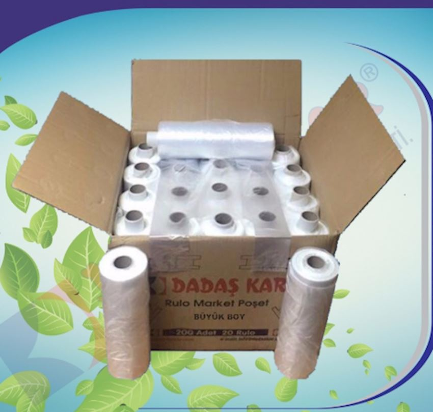 DADASKAR Large Size Roll Covers Packaging Bags