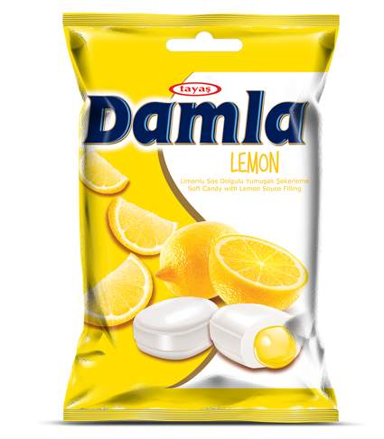 Damla Soft Candy With Lemon / Product Info - TraGate