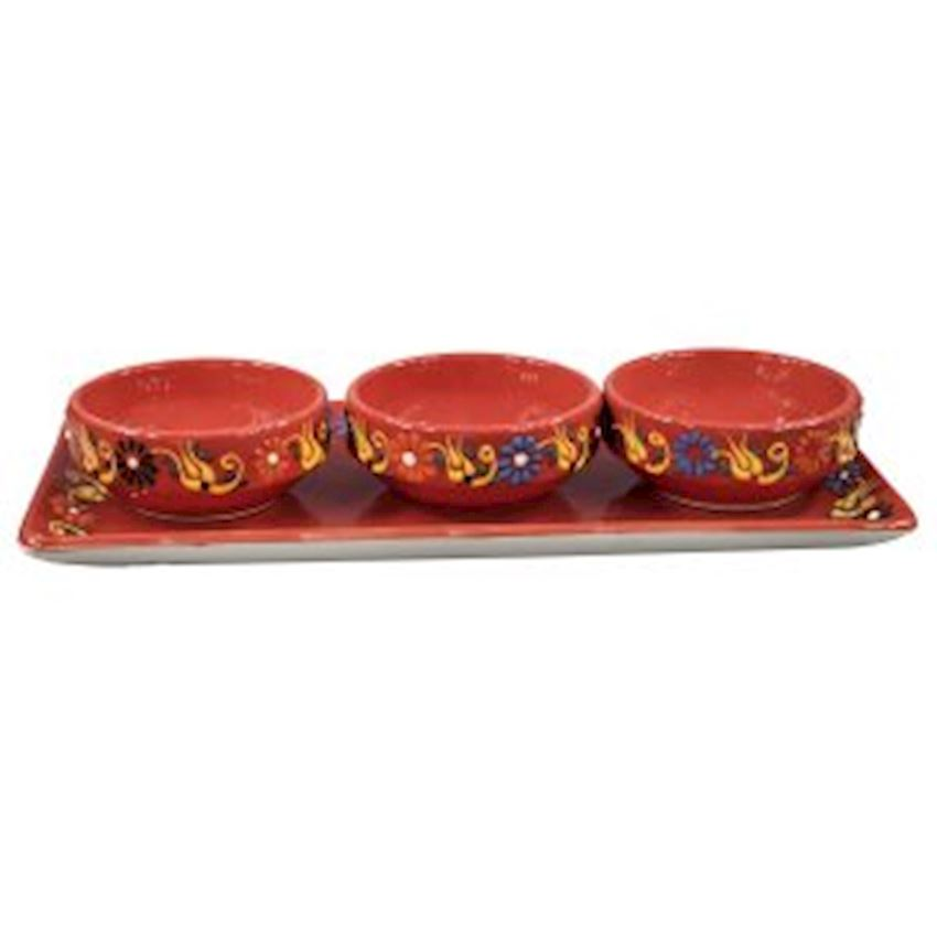 Dantel Joker Bowl Set 3pcs