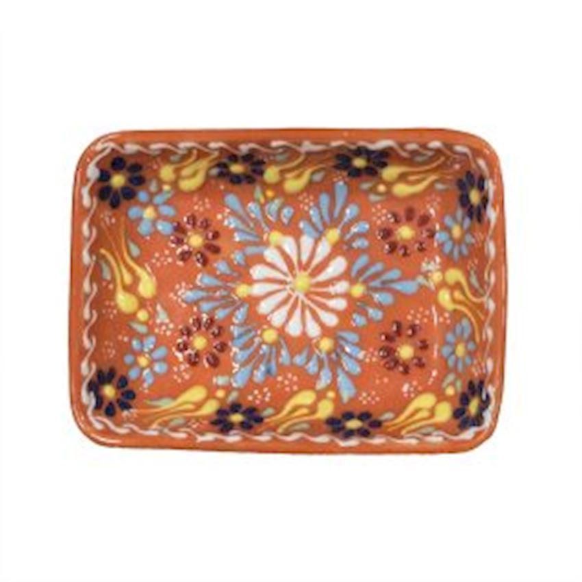 Dantel Rectangular Plate 11cm