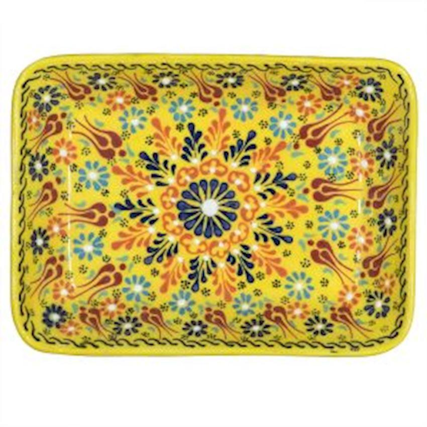 Dantel Rectangular Plate 19cm