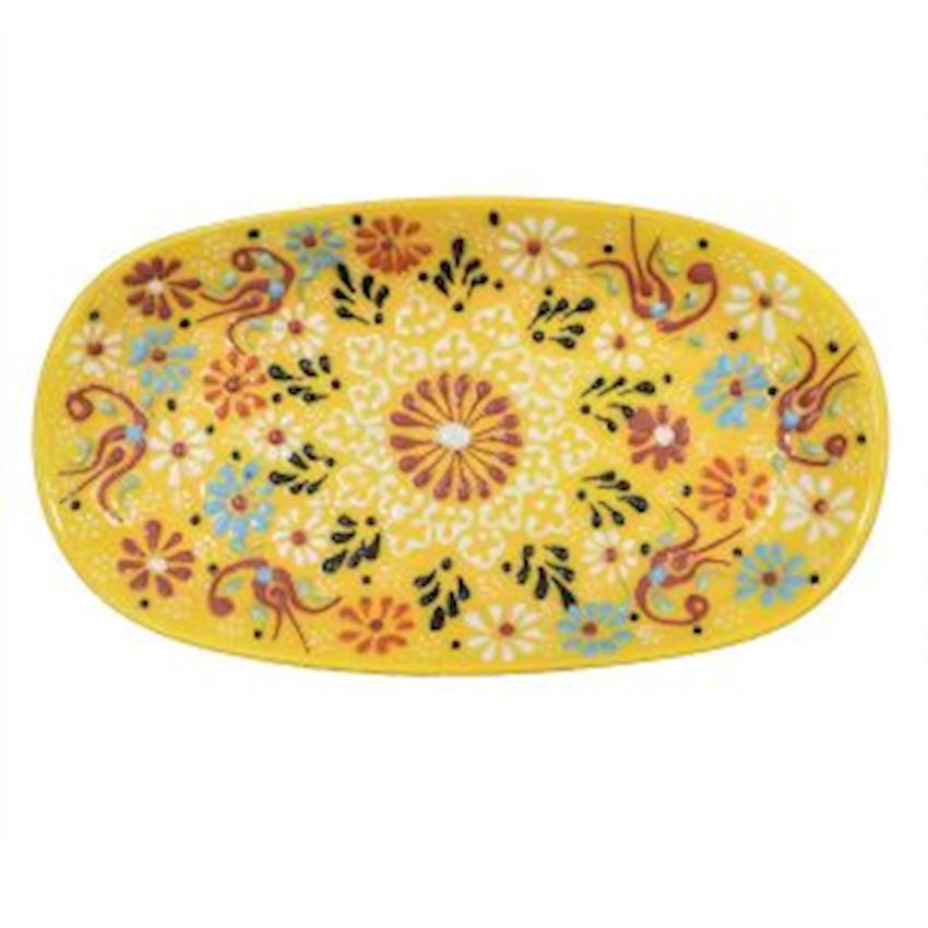 Dantel Sandal Plate 15cm
