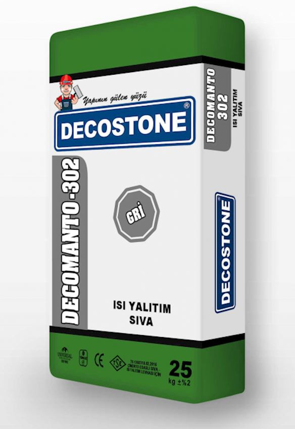 Decomanto-302 Heat Insulation Plaster Heat Insulation Materials