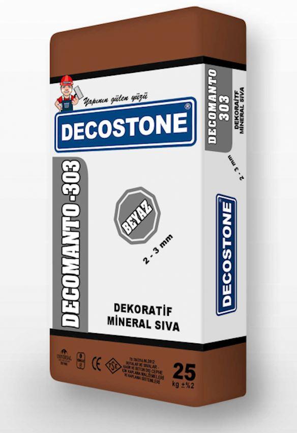 Decomanto-303 Decorative Mineral Plaster 2-3mm Heat Insulation Materials