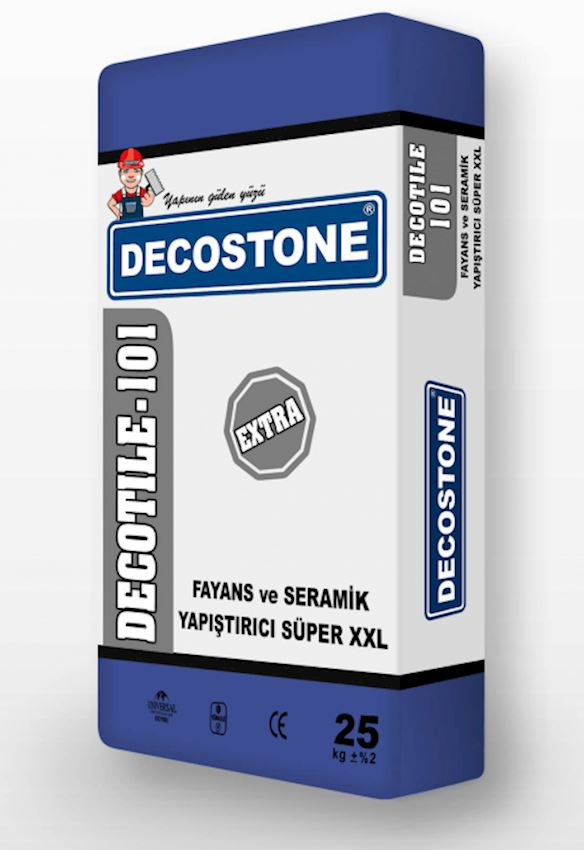 Decotile-101 Tile And Ceramic Adhesive Super XXL Extra Adhesives & Sealants