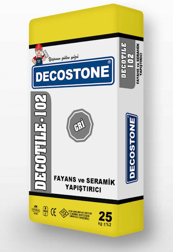 Decotile-102 Tile And Ceramic Adhesive Adhesives & Sealants