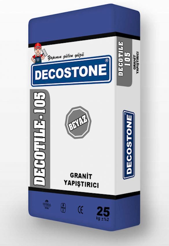 Decotile-105 Granite Adhesive - White Adhesives & Sealants