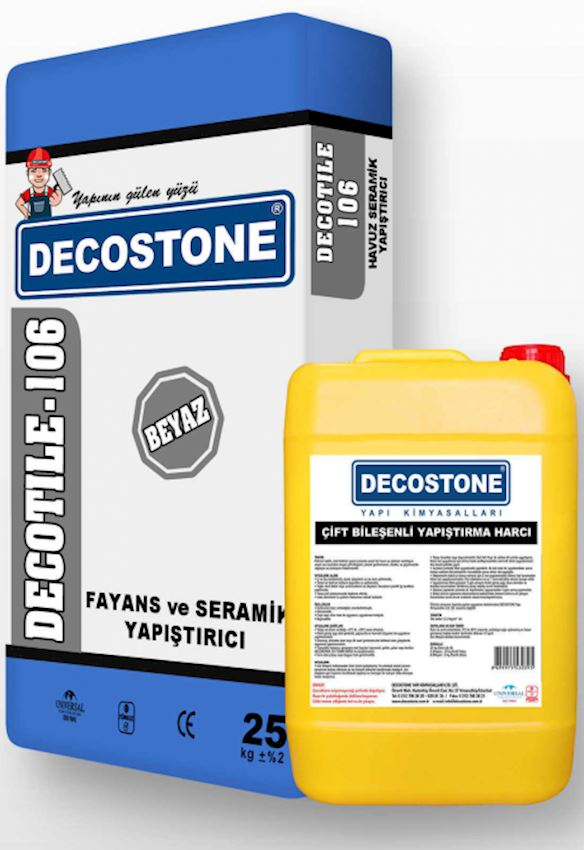 Decotile-106 Double Component Adhesive Mortar Adhesives & Sealants