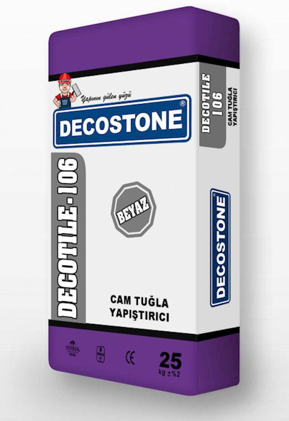 Decotile-106 Glass Brick Adhesive - White Adhesives & Sealants
