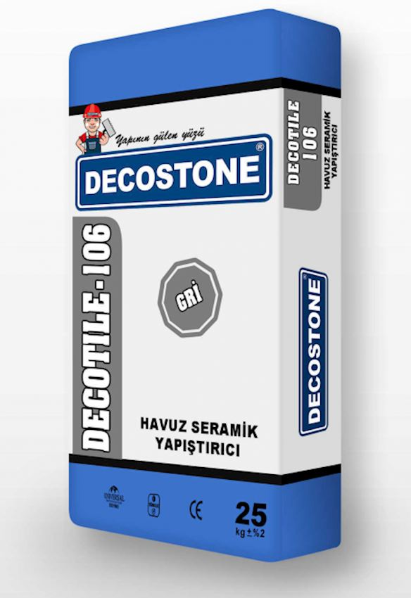 Decotile-106 Pool Ceramic Adhesive - Gray Adhesives & Sealants