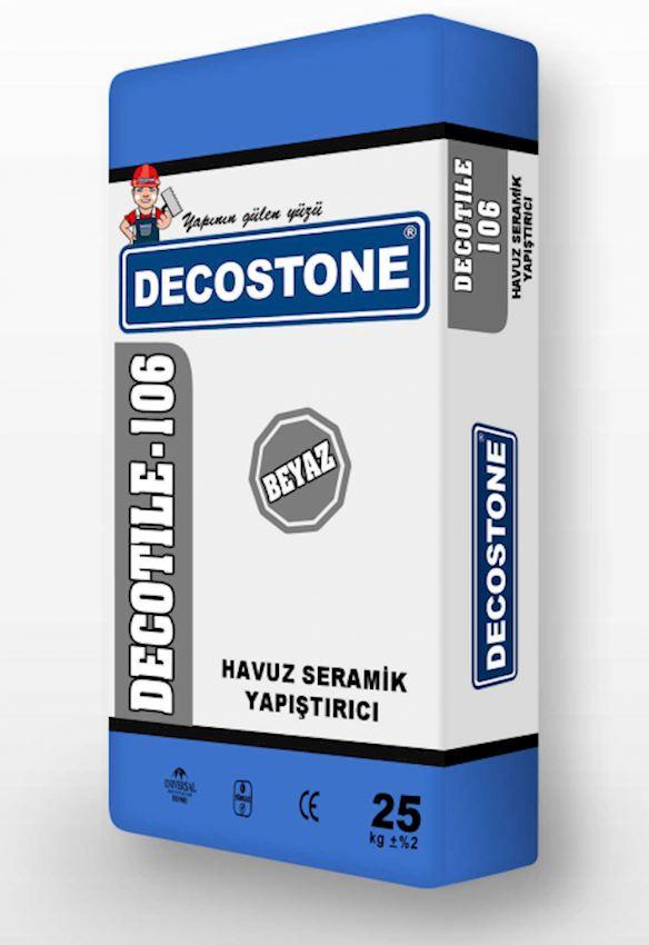 Decotile-106 Pool Ceramic Adhesive - White Adhesives & Sealants