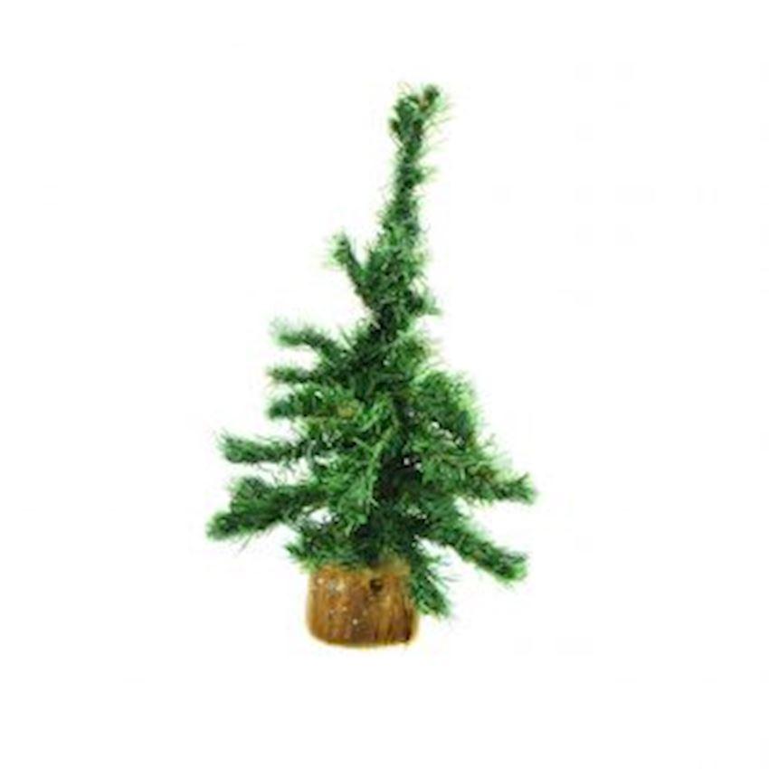 Desktop Mini Artificial Pine Tree Green Christmas Decoration Supplies