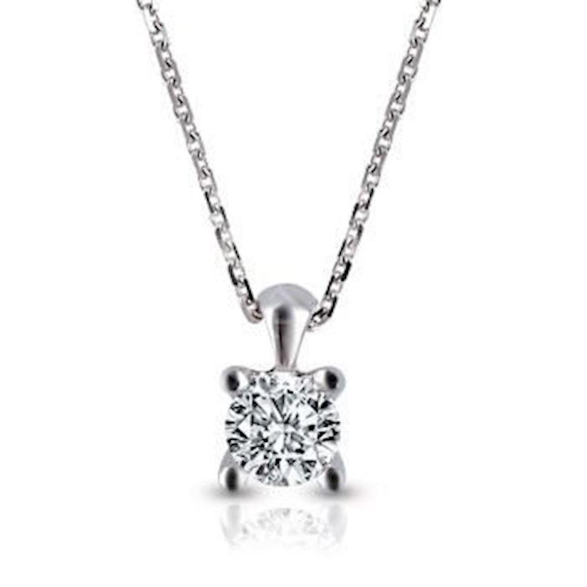 Diamond Engagement Necklace 0.25 Carat