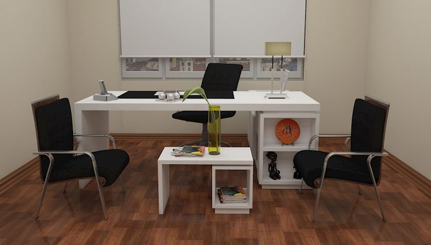 DIM HIGH EXECUTIVE OFFICES FAVORI Office Desks