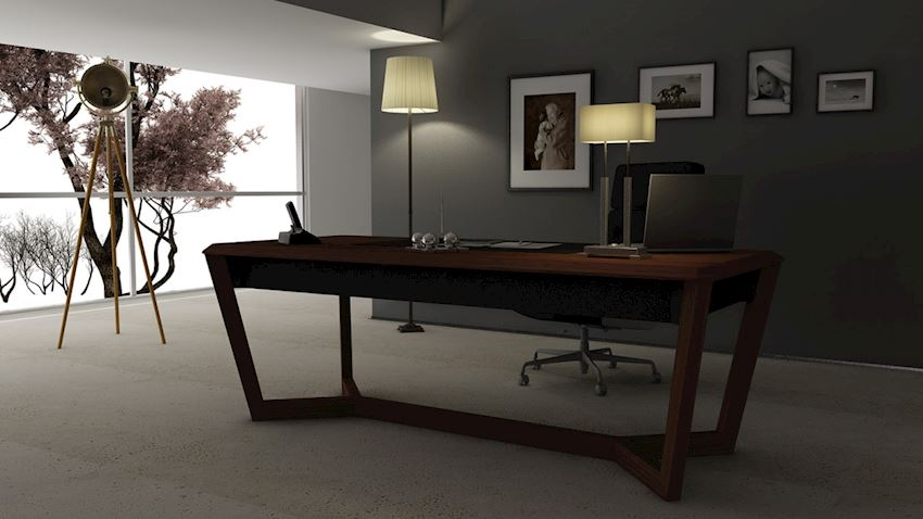 DIM HIGH EXECUTIVE OFFICES PEKIN Office Desks
