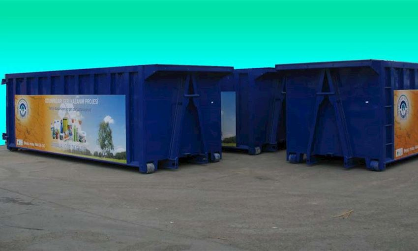DIN 30720 Abroll Containers 30m3