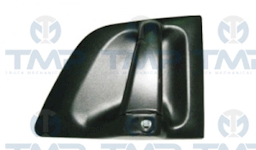 DOOR HANDLE W/BACK METAL LH (WITH LOCK AND KEY)