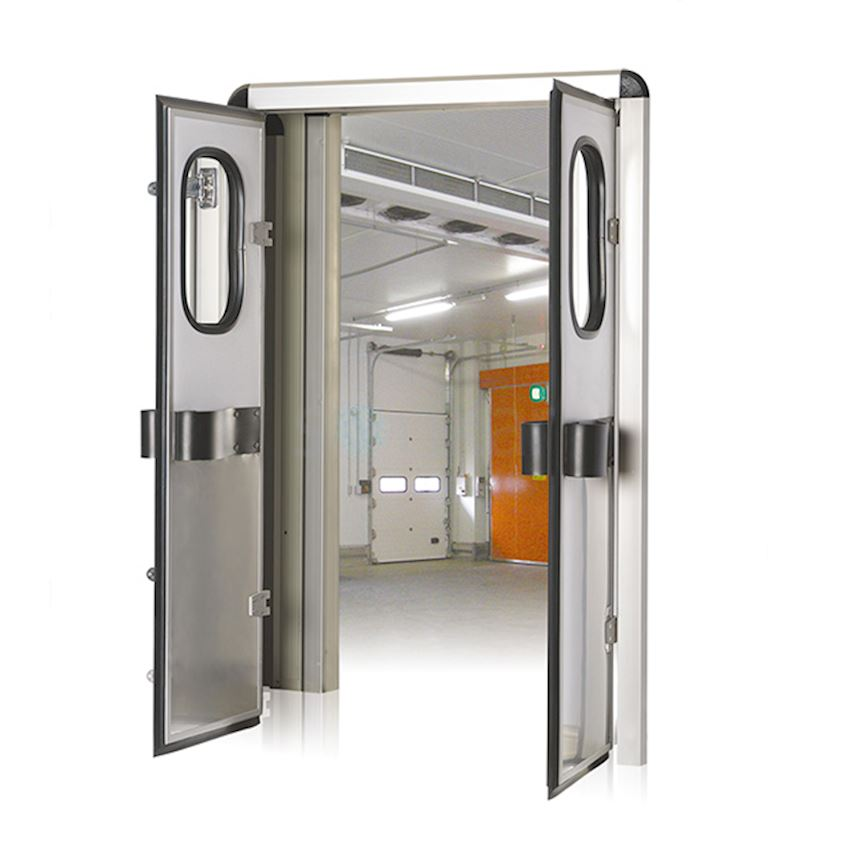 Double Leaf Flip - Flap Door Refrigeration & Heat Exchange Equipment