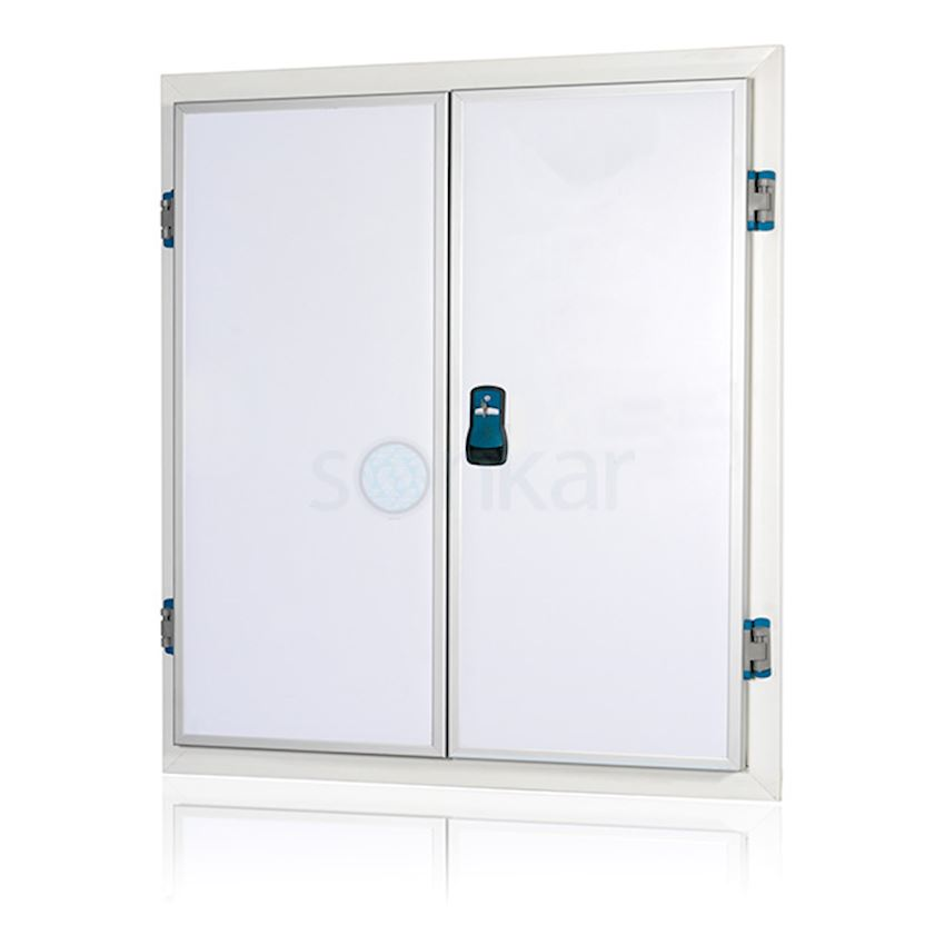 Double Leaf Swing Cold Room Door