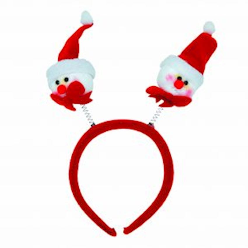 Double Snowman Christmas Party Crown Christmas Decoration Supplies