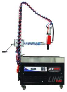 Dpf Particulate Cleaning Machine With Cabin