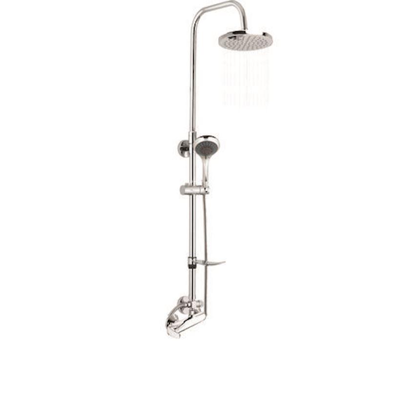 DST21 Shower Sets Shower Set ( 5 Fuction With Hand Shower )+(MDU80)