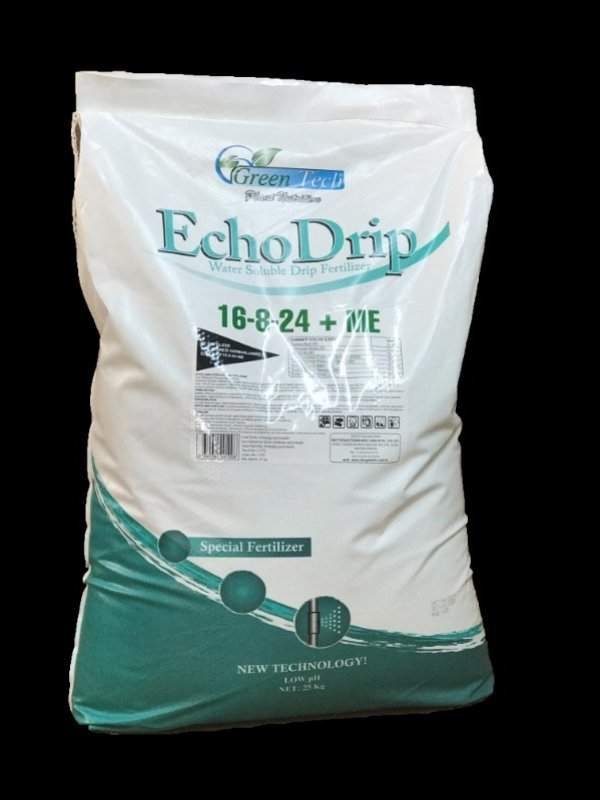 Echo Drip 16-8-24 + ME Spesific chelats 100% Water Soluble Drip Fertilizer