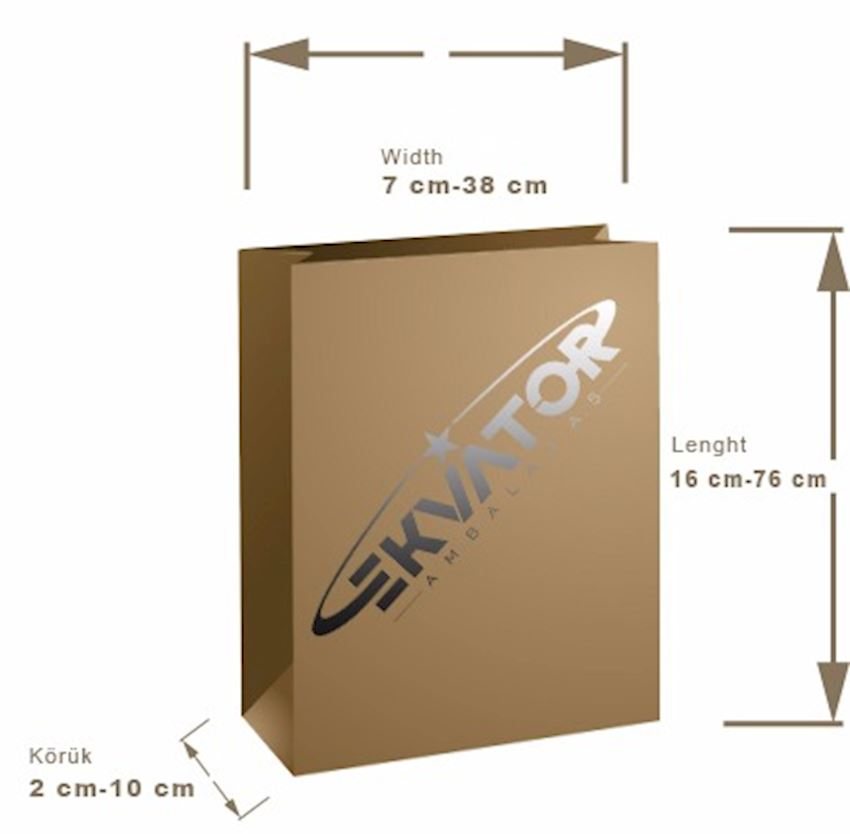 EKVATOR  Bottomed Paper Bag Packaging Bags