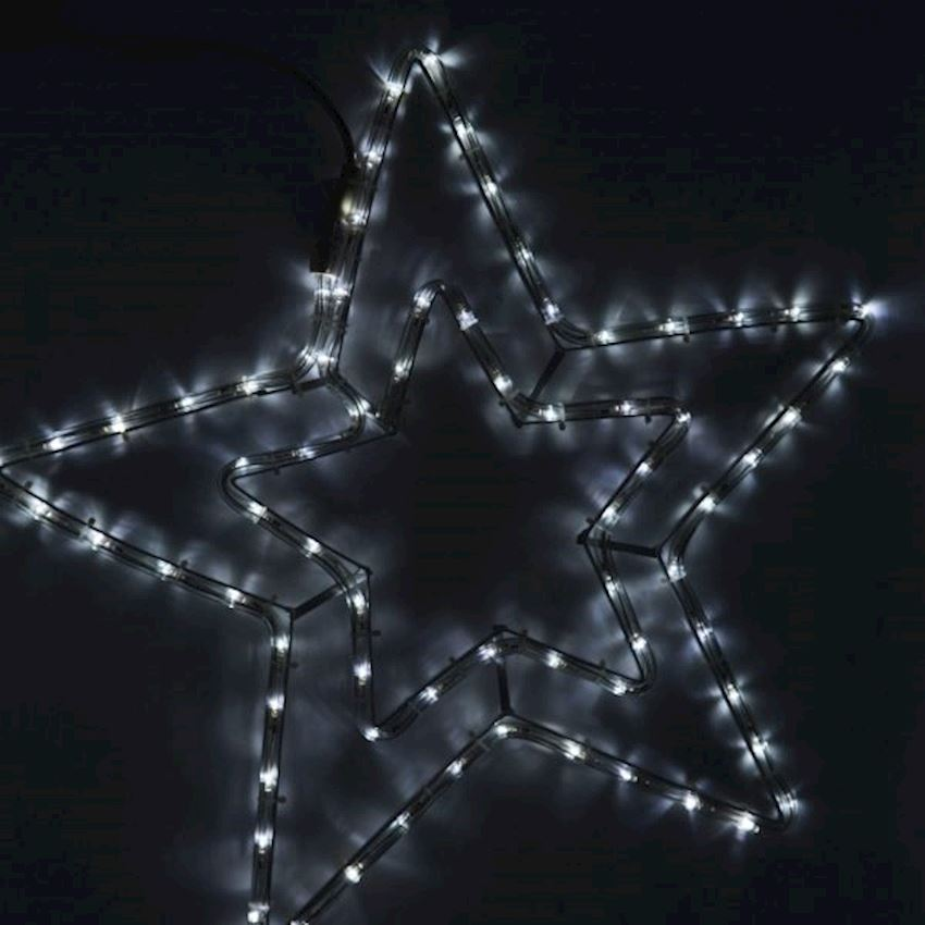 Electric Metal Wire Star Christmas Ornament 50cm Christmas Decoration Supplies