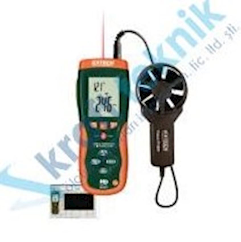 Electronic Anemometer and IR Thermometer